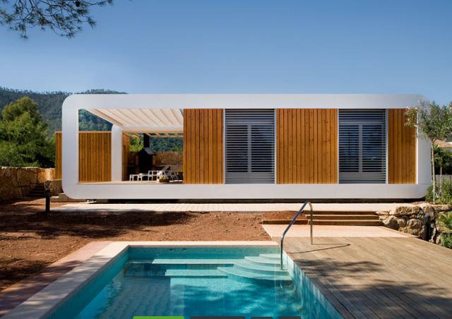 Ville in legno prezzi good case in legno green build for Economici rivestimenti in legno