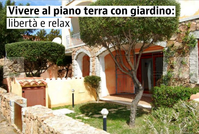 case piano terra con giardino in vendita — idealista/news