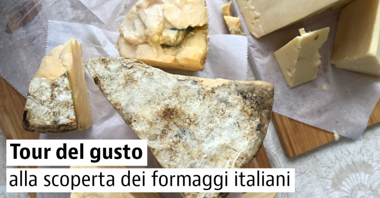 Formaggi tipici d'Italia
