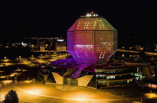 Biblioteca Nazionale della Bielorussia. GVA Lightning