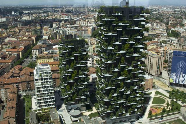 Bosco verticale (Milano, Italia)