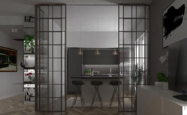 Qualche idea per arredare un appartamento dei primi del for Appartamento stile moderno