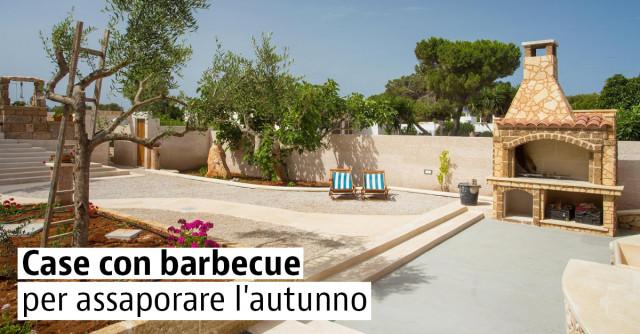 Case vacanze con giardino e barbecue