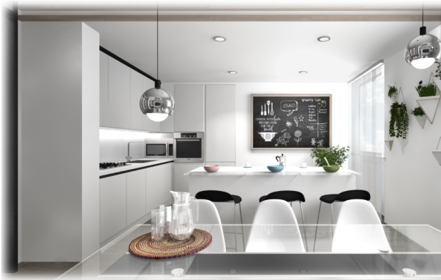 Open Space Cucine Case Moderne Interni.Arredamento Zona Giorno Open Space Idealista News
