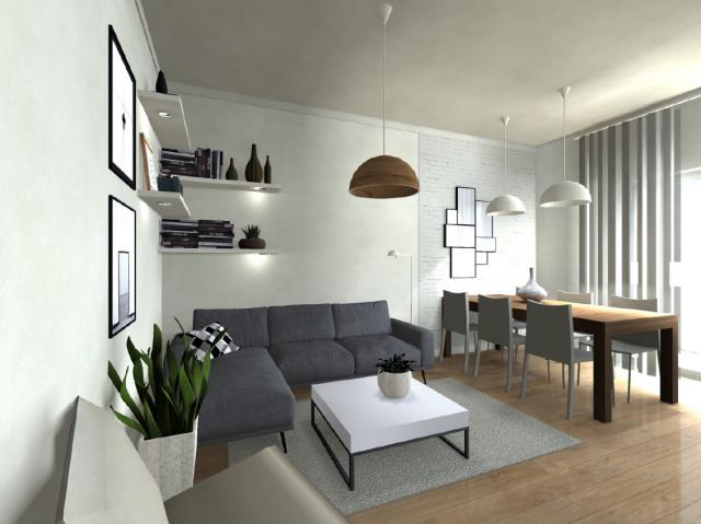 Cucine Moderne Per Ambienti Piccoli.Open Space O Ambienti Separati Qual E La Scelta Migliore