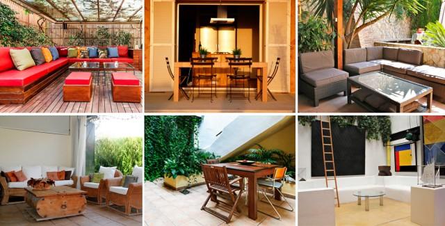 Come creare il tuo spazio chillout in una terrazza di sei metri ...