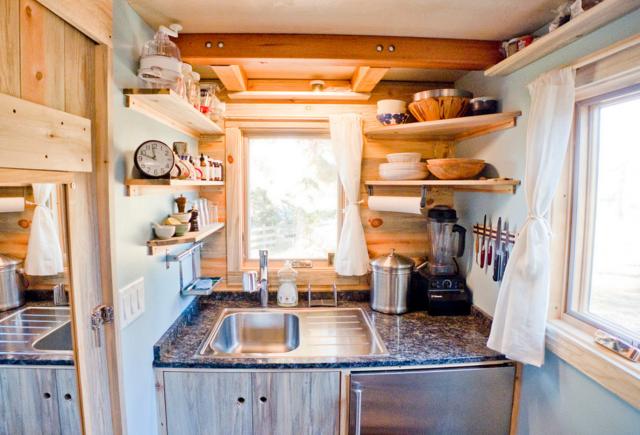 Arredare una cucina piccola come liberarsi del superfluo