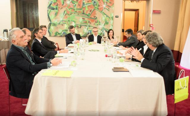 Da destra: Guerrieri,Coletti,Rubertelli,Paternesi,Peppetti,Palasciano,De Tommaso,Encinar,Lancellotti,Baccarini,Testa,Pietrolucci