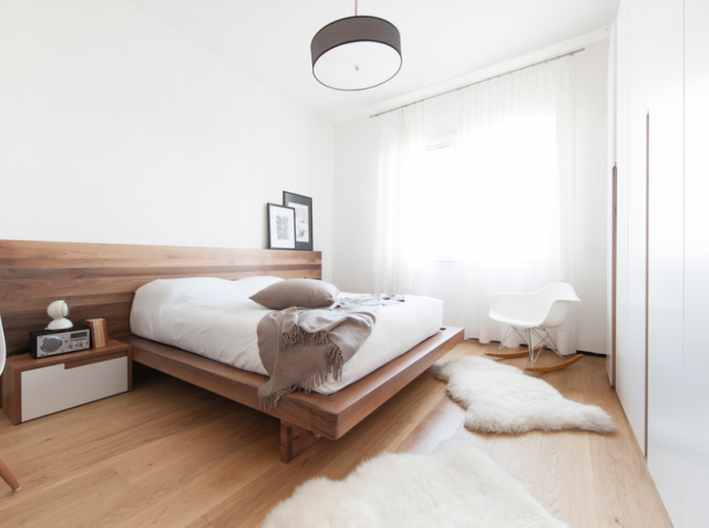 Progetto camera da letto di 15 mq 17712 - DIOTTI.COM