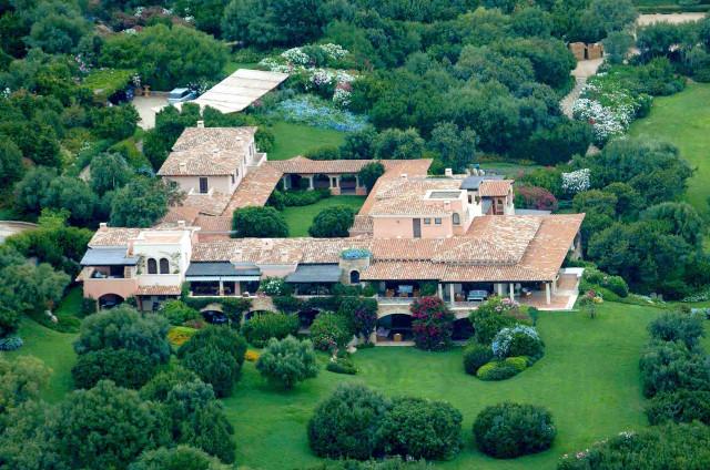 Interni Di Villa Certosa : Berlusconi pronto ad ampliare villa certosa in sardegna
