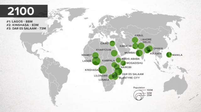 Immagine Del Giorno Le Più Popolose Megalopoli Del Mondo Nel 2100