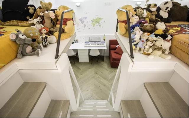 Letti Alti Per Bambini : Una cameretta per due soluzioni d arredo per separare i letti