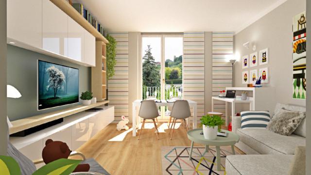 Disposizione salotto sala pranzo e lusso arredare casa piccola