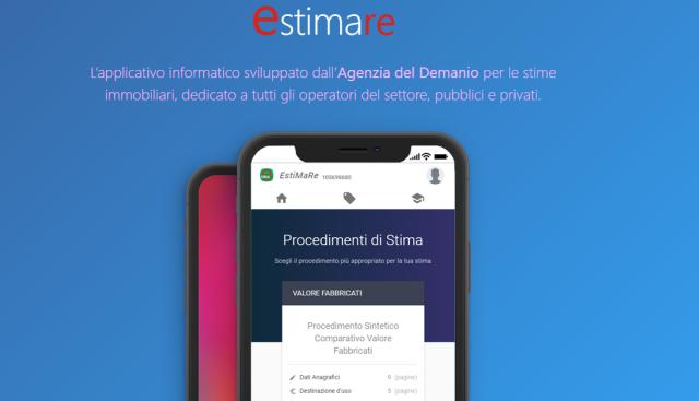 Estimare è l'app ufficiale dell'Agenzia del Demanio