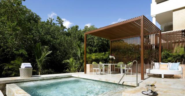 Lusso sfrenato in questo resort nel cuore della riviera maya in