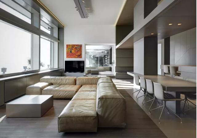Come arredare un soggiorno con colonne e pilastri arredamento
