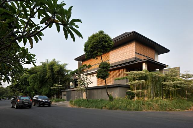 Immagine  - Questa lussuosa villa indonesiana è impenetrabile dagli sguardi esterni