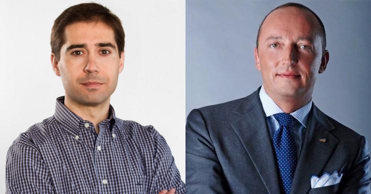 A sinistra Juan Villen Direttore idealista mutui e a destra Enrico Quadri, Ad Hgroup