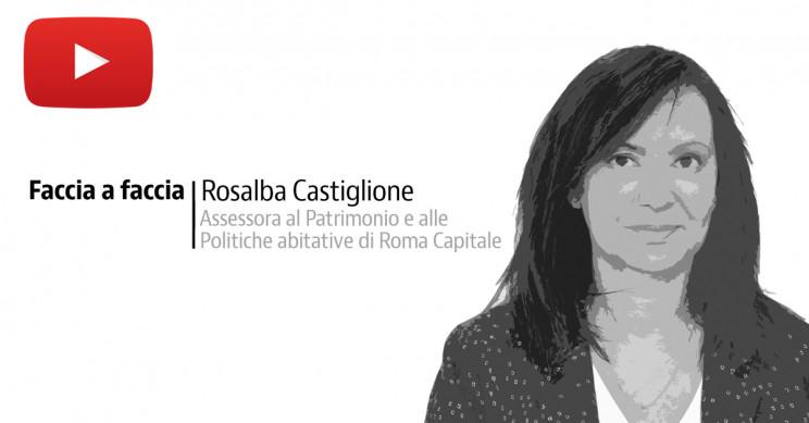 L'assessora al Patrimonio e alle Politiche abitative di Roma Capitale, Rosalba Castiglione