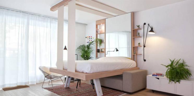Letti A Mini Castello.Letti Per Mini Appartamenti Idee Ingegnose Per La Tua Casa