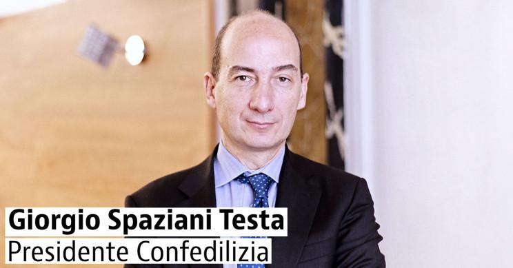 Il presidente di Confedilizia, Giorgio Spaziani Testa
