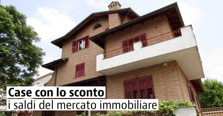 Case con lo sconto in vendita in Italia