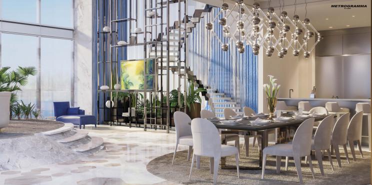 Installazione della scala Diva a Miami / Gruppo Fontanot