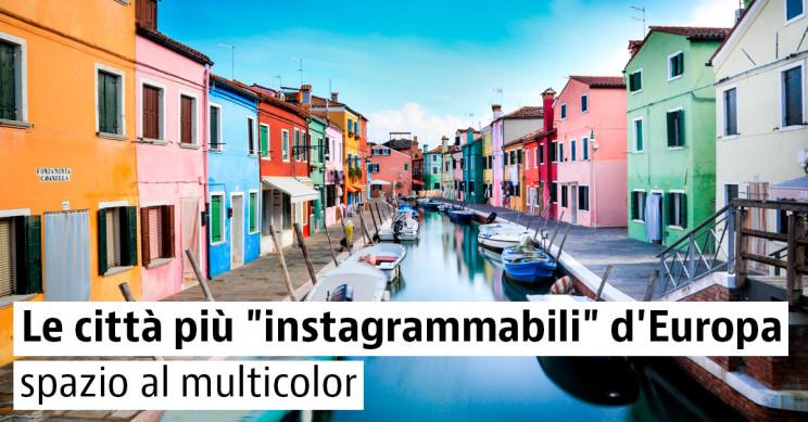 Viaggio in Europa: le città più colorate