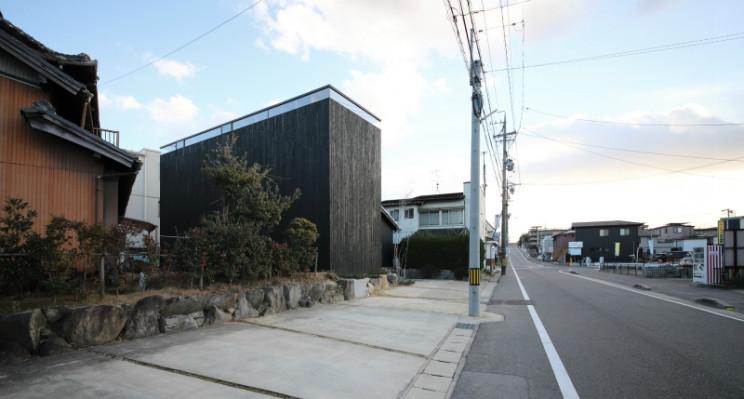 Una foto dell'esterno della casa