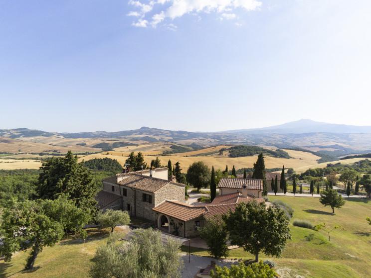 Tenuta Val d'Orcia a Saertano / Italy Sothebys International Realty