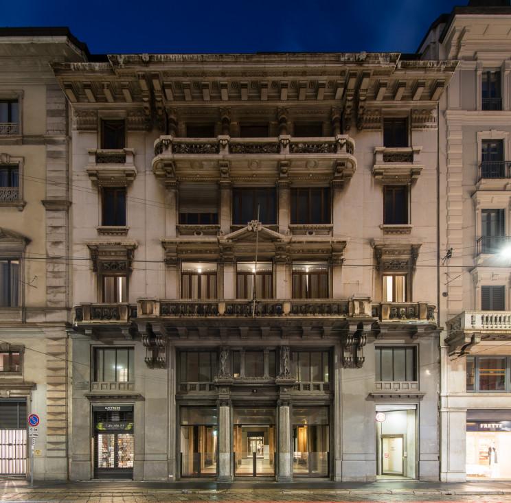 Edificio storico in Via Manzoni a Milano acquistato da Merope AM / Merope AM