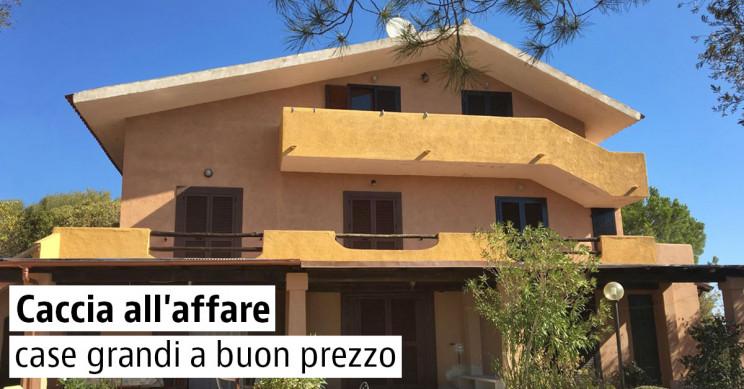 Case grandi a buon prezzo