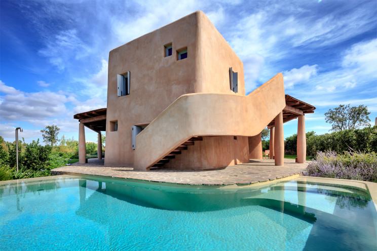 Villa Nea - Sculture da abitare Studio Fuksas / Is Molas Resort