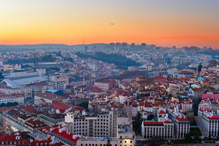 Una vista panoramica di Lisbona / Gtres