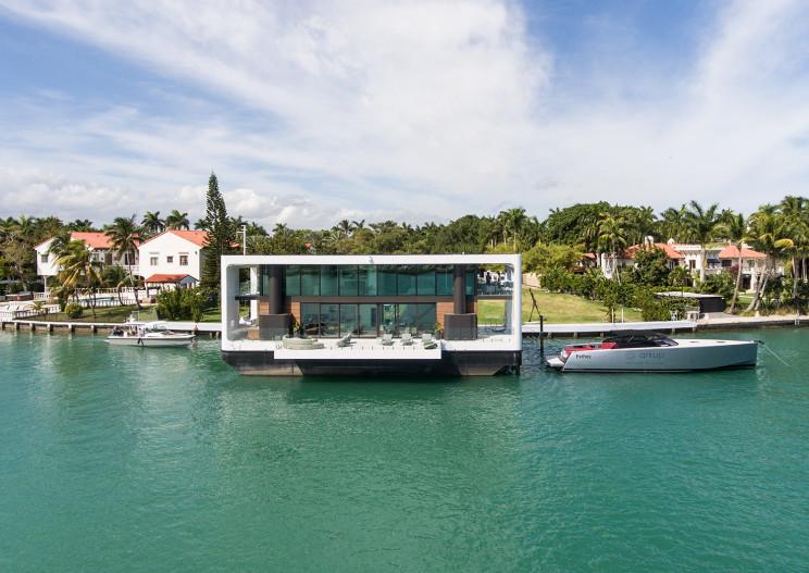 La casa-yacth a Miami / Arkup