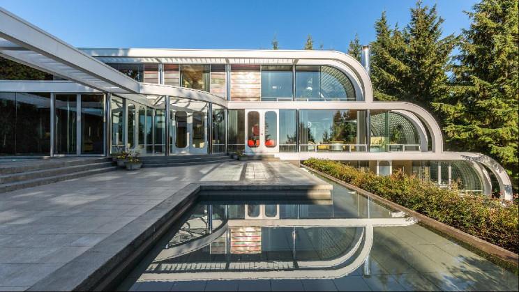 Villa Arthur Erikson a Vancouver / propertylistings.ft.com
