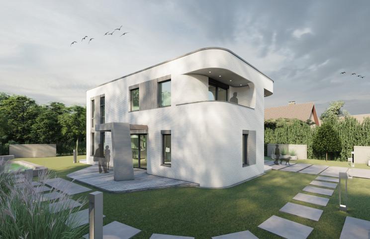 PERI 3D-Betondruck_Rendering Wohnhaus_Quelle MENSE-KORTE ingenieure+architekten