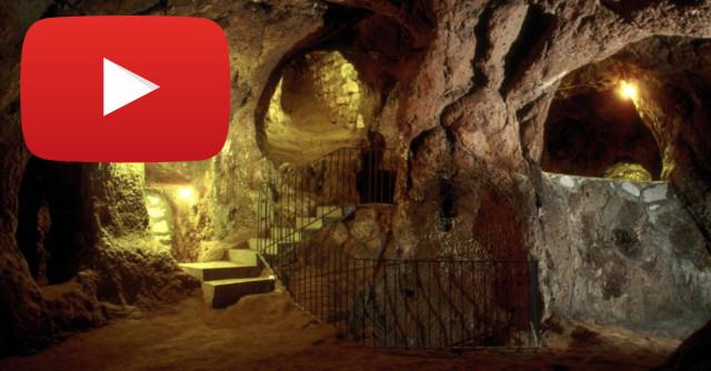 Immagine  - Derinkuyu, la città sotterranea di 85 metri di profondità costruita  nel 1400 a.C.
